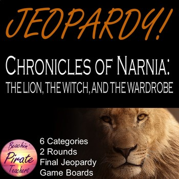 JEOPARDY!!! - The Chronicles of Narnia: The Lion, the Witch, and the Wardrobe