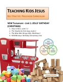 JESUS' BIRTHDAY (CHRISTMAS) UNIT_Teaching Kids Jesus Best Practice Preschool