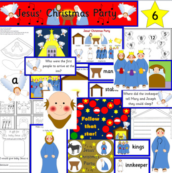 JESUS' CHRISTMAS PARTY book study- Nicholas Allan