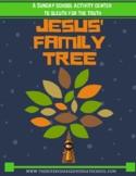 JESUS' FAMILY TREE  (The Genealogy of Jesus)