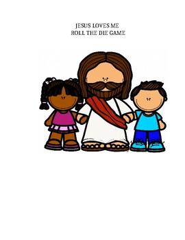 JESUS LOVES ME GAME