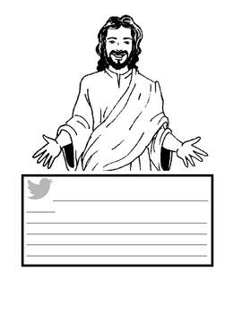 JESUS TWEETS!!!!  Jesus on Twitter!