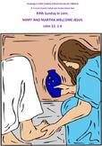 JESUS VISITS MARY AND MARTHA- LENT 5