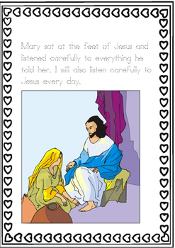 JESUS VISITS MARY AND MARTHA- LENT 5