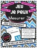JE PEUX MESURER - JEU
