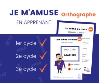 JEU d'orthographe - Tous les cycles