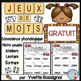 JEUX DE MOTS pour son complexe GRATUIT   Free French Phoni
