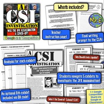 JFK Assassination: A CSI Investigation on Kennedy, Oswald, CIA, Soviets, & More!