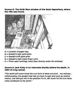 JFK Assassination Sources Investigation