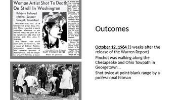 "JFK ASSASSINATION - ""Termination With Extreme Prejudice"" PowerPoint"