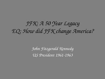 JFK Mini Lesson