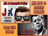 JFK PowerPoints & Activity Bundle