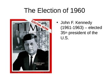 John F. Kennedy (JFK) PowerPoint Notes