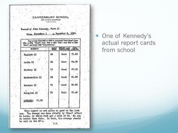 JFK Report Card