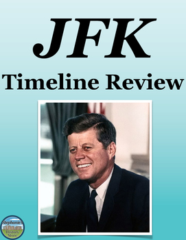 President Kennedy Timeline Review