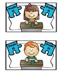 JIGSAW Puzzle Box Labels
