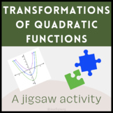 JIGSAW: Transformations of Quadratic Functions