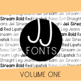 JJ Fonts: Volume One