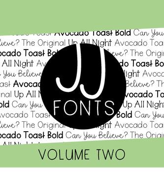 JJ Fonts: Volume Two