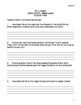 JJ NS 5 Jasper Jones Novel Study 5 Chapter 3 .pdf version