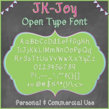 JK-Joy OpenType Font