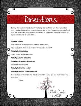 J.K Rowling Literacy Cards (Harry Potter)