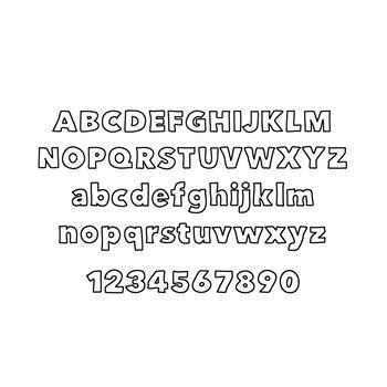 JM Block Font