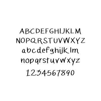 JM Brushy Font