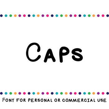 JM Caps Font