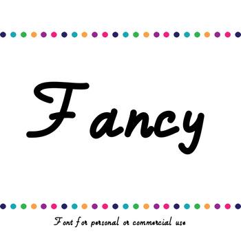 JM Fancy Font