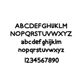 JM Heavy Hand Font