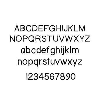 JM Prim Print Font
