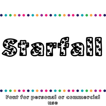 JM Starfall Font