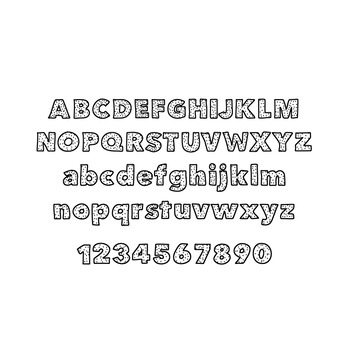 JM Starry Font