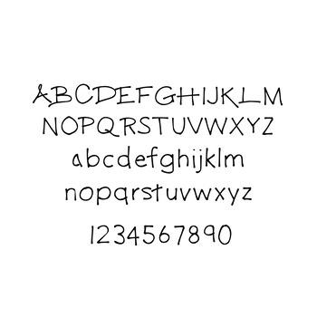 JM Whimsical Font