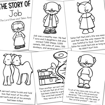 54 Job Coloring Pages Bible Images & Pictures In HD
