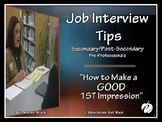 "JOB INTERVIEW POWERPOINT PRESENTATION ""How to Make a GOOD"