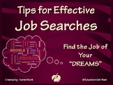 "JOB SEARCH POWERPOINT PRESENTATION - ""Find the JOB of your"