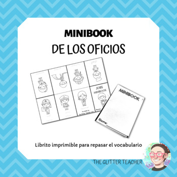 JOBS & OCCUPATIONS printable Minibook