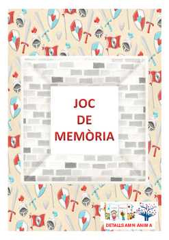 MEMORY GAME - KNIGHTS * JOC DE MEMÒARIA - CABALLERS
