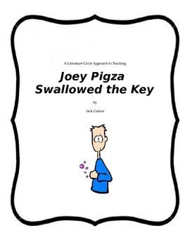 JOEY PIGZA SWALLOWED THE KEY Full Literature Circle Unit