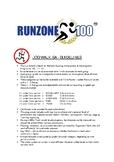 JOG/WALK.SA Program Guidelines. Gr. 1-12