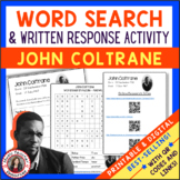 JOHN COLTRANE Word Search and Research Activity