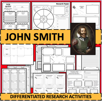 JOHN SMITH Biographical Biography Research Activities DIFFERENTIATED!