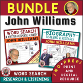 JOHN WILLIAMS BUNDLE - Music Activities for Middle and Jr