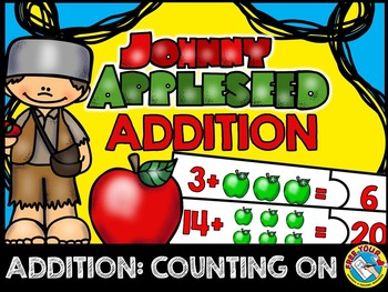 JOHNNY APPLESEED MATH CENTER: ADDITION COUNTING ON STRATEGY: APPLE ACTIVITIES