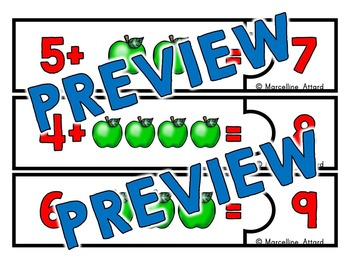 JOHNNY APPLESEED MATH ACTIVITY (ADDITION COUNTING ON APPLE ACTIVITIES)