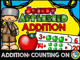 JOHNNY APPLESEED ACTIVITY KINDERGARTEN (ADDITION COUNTING ON APPLES PRESCHOOL)