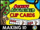 APPLE MATH CENTERS KINDERGARTEN (JOHNNY APPLESEED ACTIVITY) MAKING 10