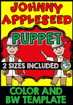 FALL ACTIVITIES: JOHNNY APPLESEED CRAFTS: JOHNNY APPLESEED PUPPET TEMPLATES